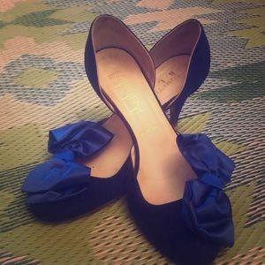 Something Bleu size 7 shoes BHLDN (Anthropologie)